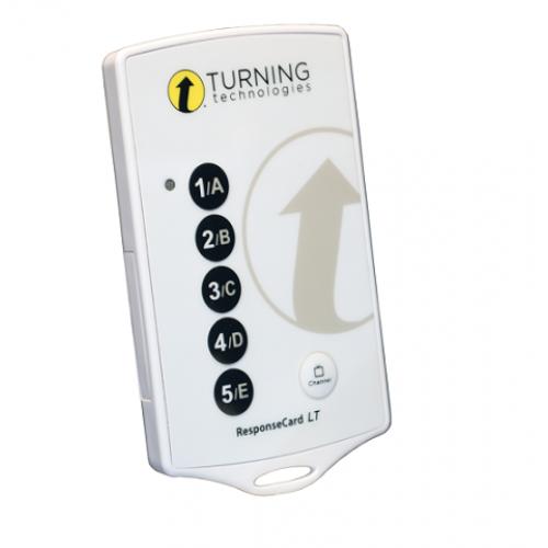 Пульт системы голосования Turning Technologies ResponseCard LT