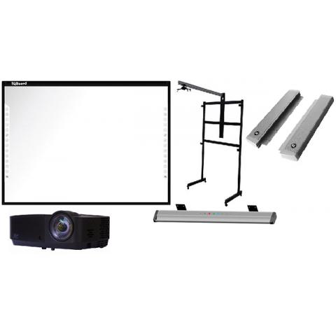 Интерактивный мобильный комплект IQBoard Q82+acc/IN124STa/STWP06/1