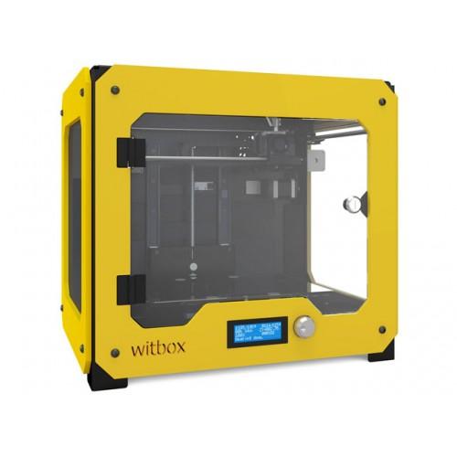 3D принтер bq Witbox желтый