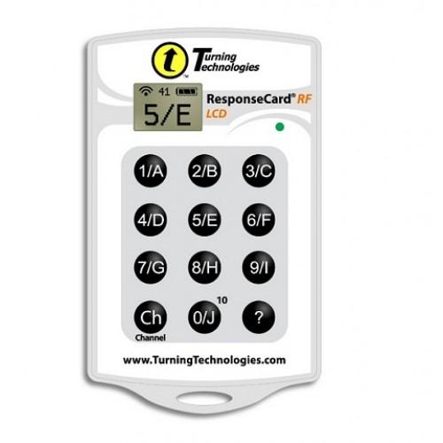 Пульт системы голосования Turning Technologies ResponseCard RF LCD