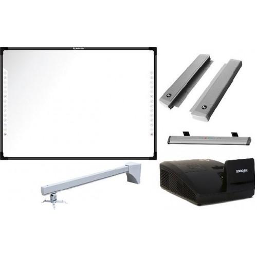 Комплект интерактивный N82/IN134UST/WTH140 + акустика, активный лоток