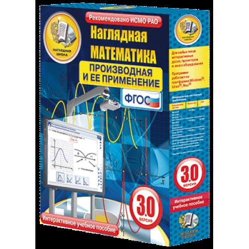 Наглядная математика. Производная и её применение. 10 класс