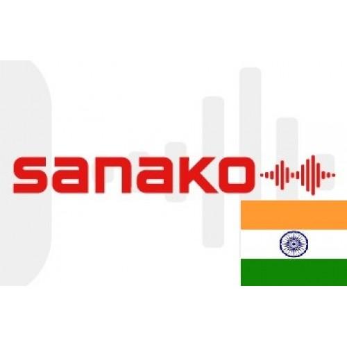 Голосовой словарь «Хинди» (Индийский язык) для Sanako Pronounce