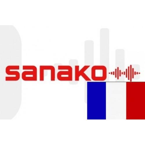 Голосовой словарь «Французский язык» для Sanako Pronounce