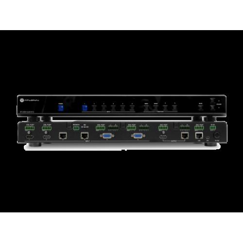 2x HDBaseT, 2x HDMI, 2x VGA на 1 HDBaseT, 1 HDMI мультиформатный коммутатор