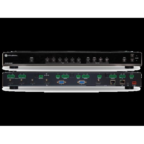 4K UHD 6 на HDMI HDBaseT мультиформатный коммутатор