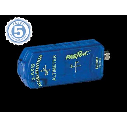 Цифровой датчик 3 - осный акселерометр/альтиметр PASCO