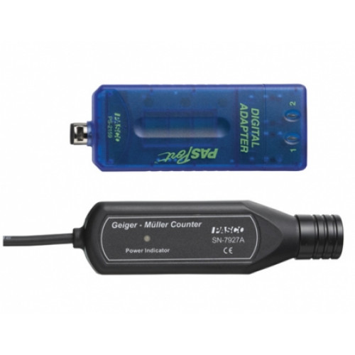 Цифровой датчик альфа /бетта/ гамма радиации PASCO