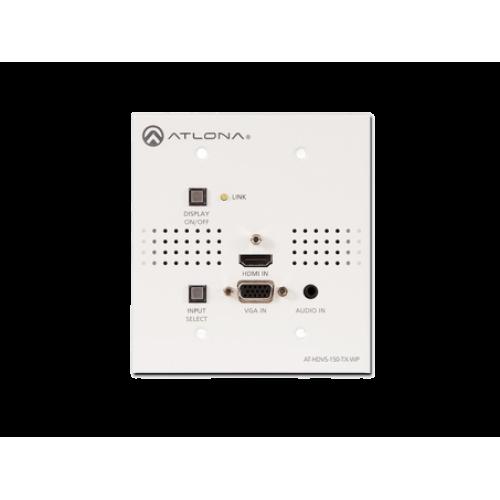 Коммутатор Стенная панель с HDMI и VGA входами и выходом на HDBaseT